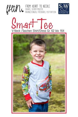 Smart Tee by From Heart To Needle PAPIERSCHNITTMUSTER